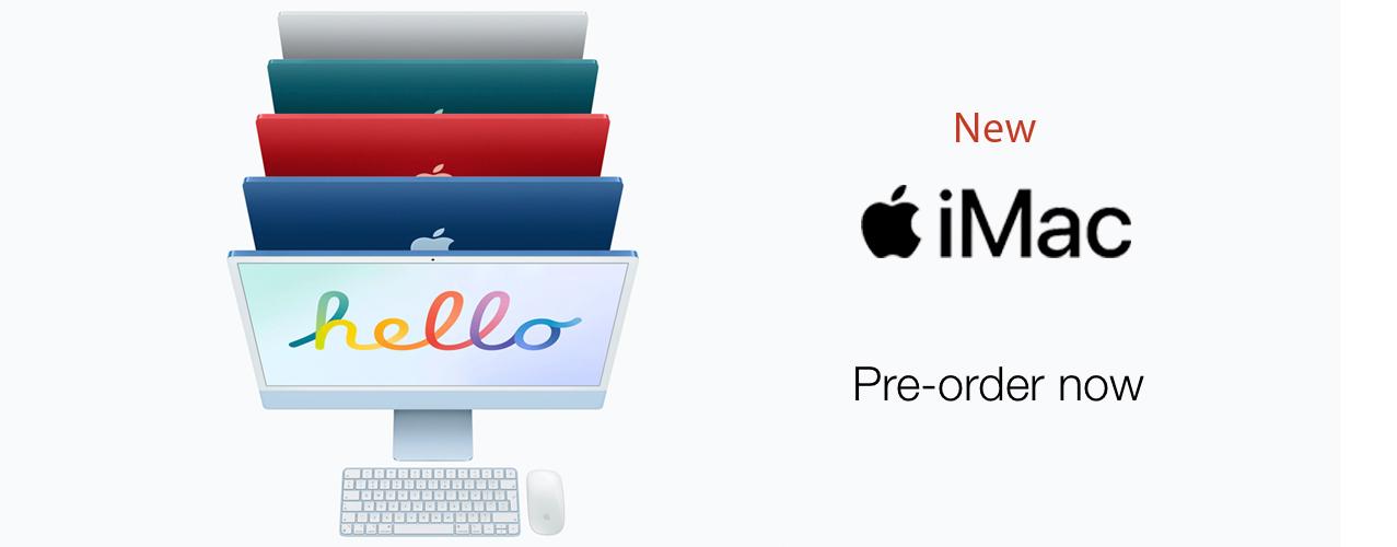 New iMac M1