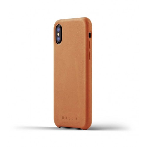Full Leather Case for iPhone X - Tan