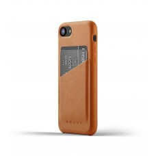 Leather Wallet Case for iPhone 8 / 7 - Tan