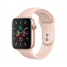 Apple Watch Series 5 GPS 44mm Gold Aluminium Case with Pink Sand Sport Band