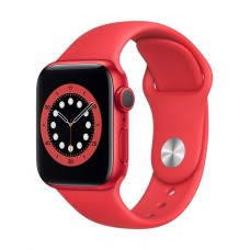 Apple Watch Series 6 GPS 40mm Product (RED) Aluminium Case with Product (RED) Sport Band